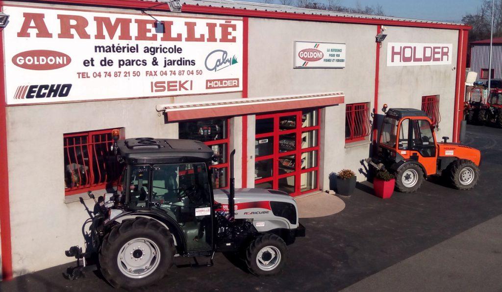 Entreprise Armellié, Professionnel, matériels agricoles et espaces verts
