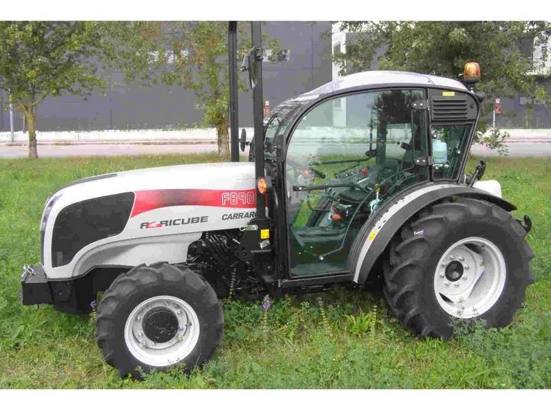 Cabine fruitière pour tracteur FB