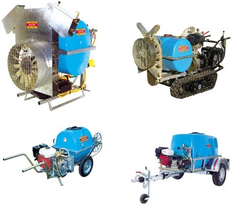 Atomiseur à turbine et pulvérisateur VICH