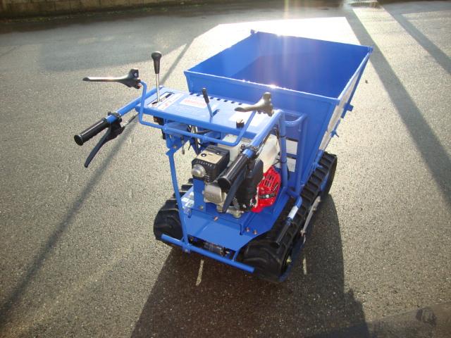 Chenillette ISEKI XV 300 vue profil