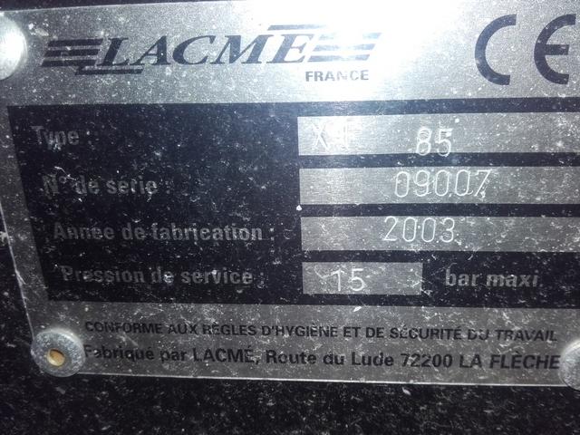 Compresseur Lacmé XT85 zoom
