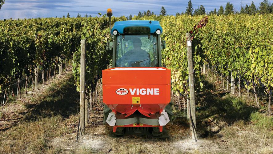 Épandeur AGREX vigne SARL Armellié